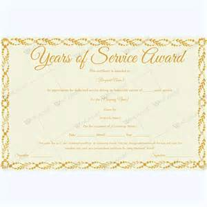 Service Certificate Template For Employees by 89 Award Certificates For Business And School Events