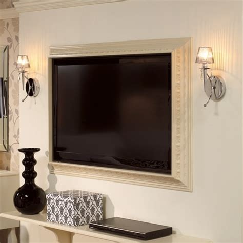 Bathroom Ideas Budget diy tv frame disguise that flat screen decorating your