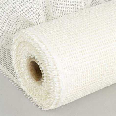 Paper Mesh Craft - 10 quot paper mesh roll white 10 yards rr800127