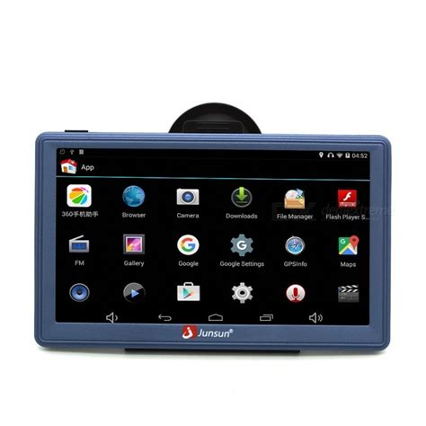 Memory Gps junsun 7 quot android wireless car gps navigator with 16gb memory free shipping dealextreme