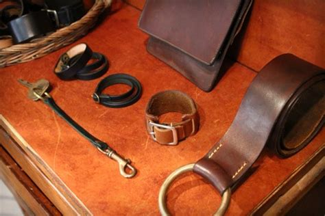 Leather Handcraft - leather craft hither thither