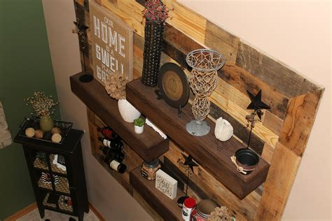 dining room remodel pallet wall floating shelves img 4211 ellery designs