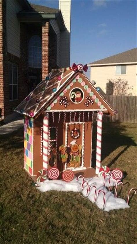 life size gingerbread house decorations 1000 ideas about gingerbread christmas decor on pinterest xmas decorations
