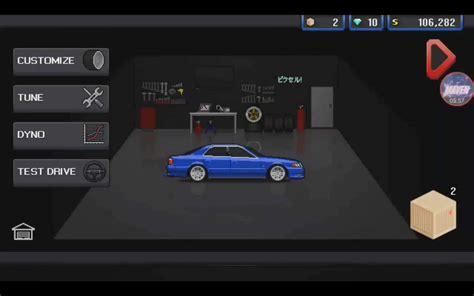 pixel car racer pixel car racer взломанная