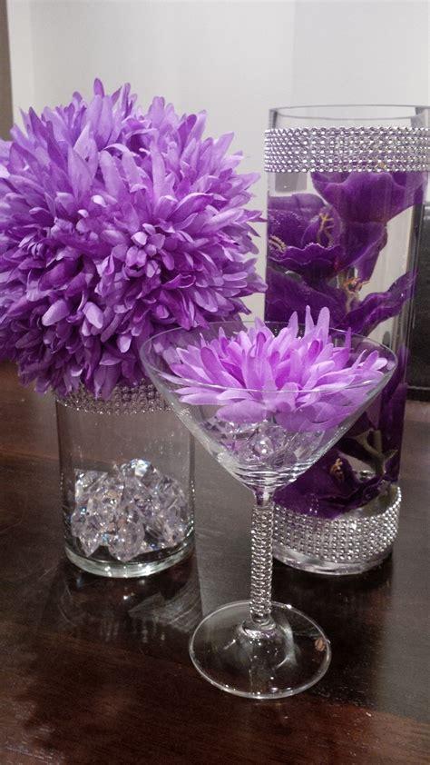 purple wedding centerpieces on pinterest inexpensive diy wedding decorations positano wedding art and diy