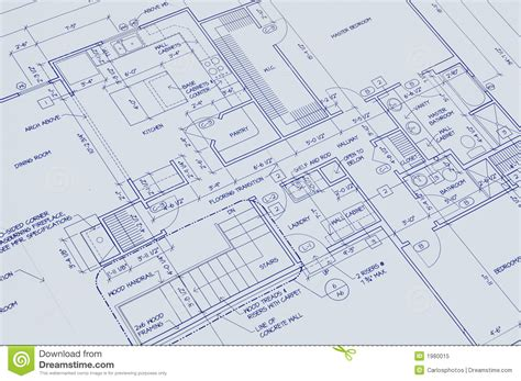 blueprint design free blueprint of a house royalty free stock photo image 1980015