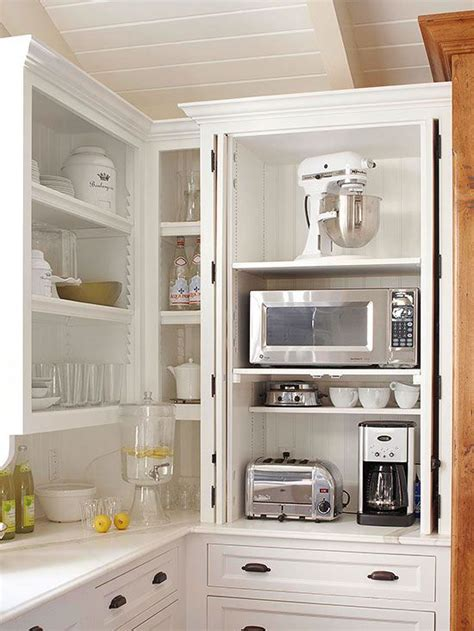 Appliance Storage Cabinet 25 Best Ideas About Appliance Garage On Pinterest Appliance Cabinet Custom Kitchen Cabinets