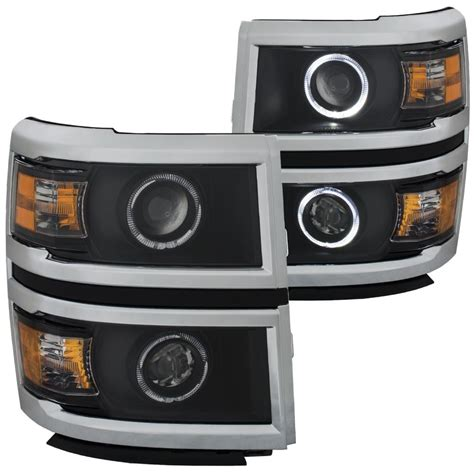 Projector Set 111345 Anzo Usa Projector Headlight Set