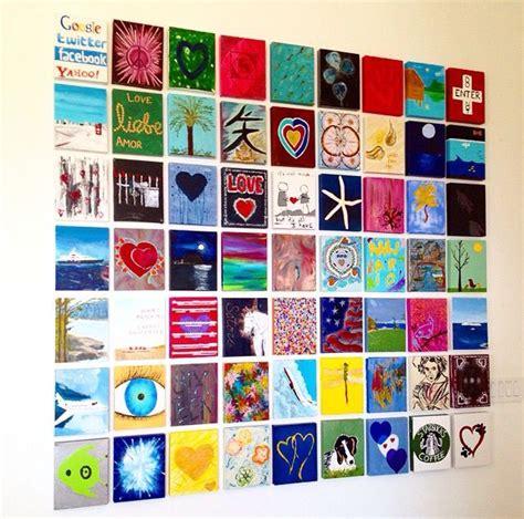 yolanda fosters art wall 1000 ideas about small canvas on pinterest kids
