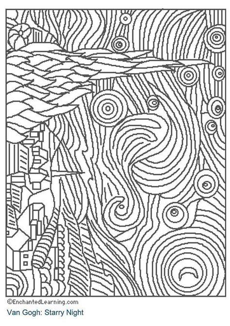 Coloriage Nuit étoilée - img 3204