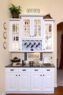 kitchen hutch ideas kitchen hutch bar area traditional kitchen