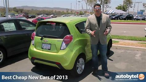 Cheap New by Best Cheap New Cars Of 2013 Autobytel S Top 10