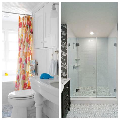 Shower Door Or Shower Curtain Shower Curtain Or Door