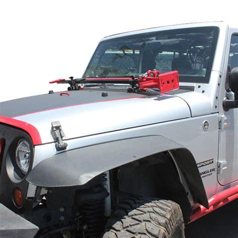 jeep hood accessories tuff stuff 174 hood hinge jack mount 07 17 jeep wrangler jk