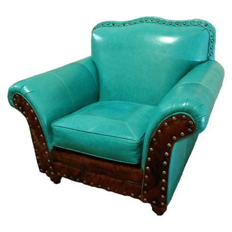 turquoise leather chair albuquerque turquoise club chair