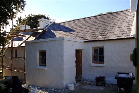 Cottage Restoration Ireland by After Restoration Work On A Traditional Cottage By