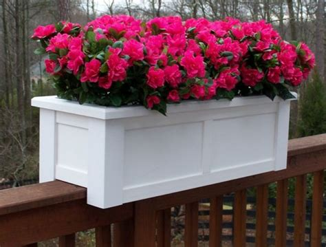 deck rail planters plans doherty house deck rail