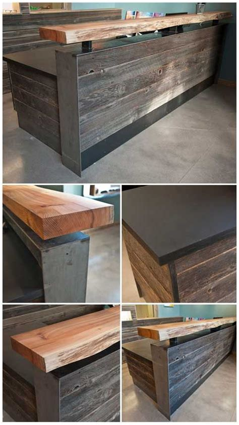 Build Reception Desk Build A Reception Desk Build A Reception Desk Plans Woodworking Projects How To Build A