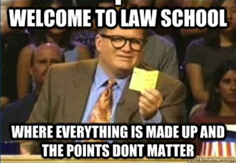 Law School Memes - reads a 900 page book outline is quot only quot 50 pages long