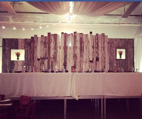 17 Best ideas about Rustic Head Tables on Pinterest