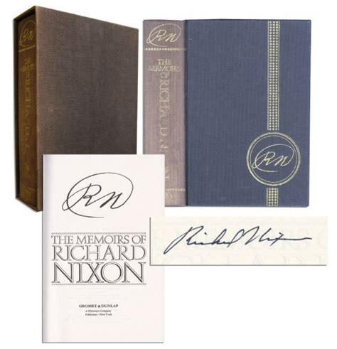 Nixon Copy lot detail president richard nixon signed copy of rn