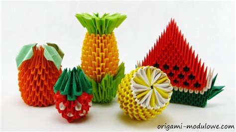 Origami Fruit - spotlight on origami noticeboard social