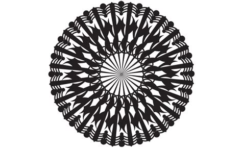 adobe illustrator radial pattern adobe illustrator circle pattern vector pack