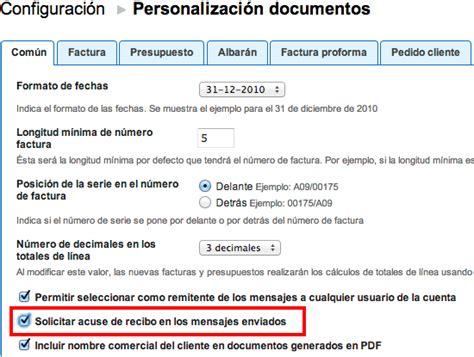 01 acuse de recibo de la declaracin facturadirecta solicitar acuse de recibo en el env 237 o de