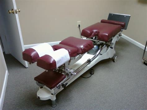 Chiropractic Table For Sale by Used Zenith 210 Hylo Chiropractic Table For Sale 924088782