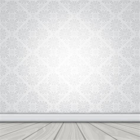 wallpaper for walls vector wall with damask wallpaper and wooden floor vector free