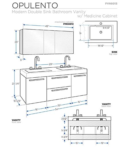 Bathroom Cabinet Measurements by Bathroom Vanities Buy Bathroom Vanity Furniture