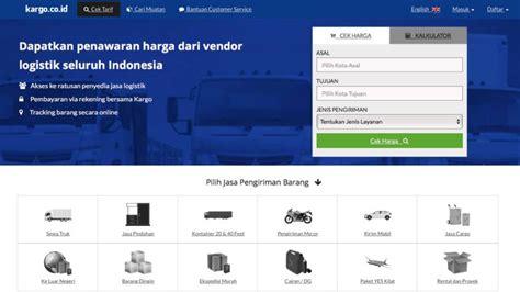cek resi standard express daftar startup logistik di indonesia