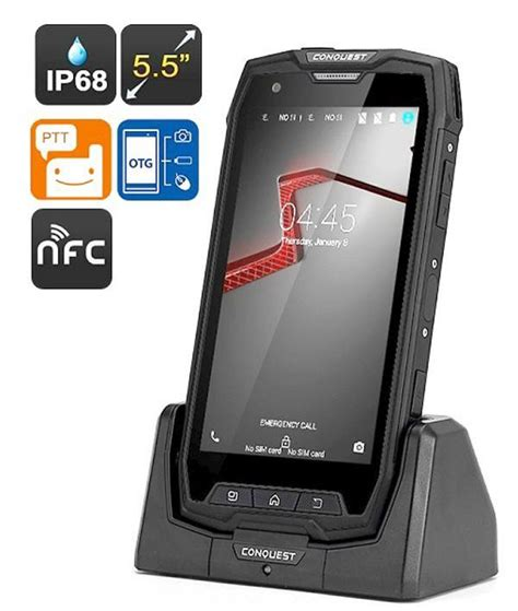 smartphone rugged conquest s9 rugged smartphone nfc end 12 22 2017 10 15 pm
