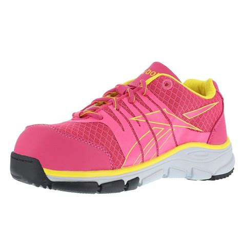 composite toe athletic shoes reebok womens arion composite toe athletic shoe rb458