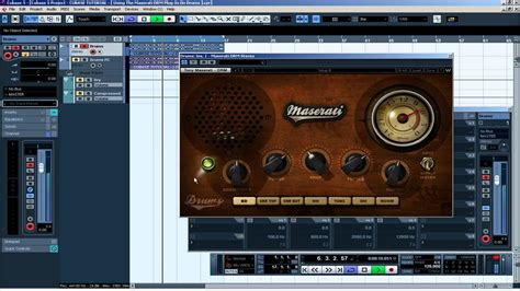 cubase tutorial drum and bass cubase tutorial using the maserati drm plug in on