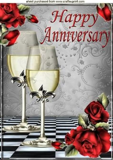 Wedding Anniversary Wishes For Jijaji by Roses And Chagne For A Anniversary A4 On