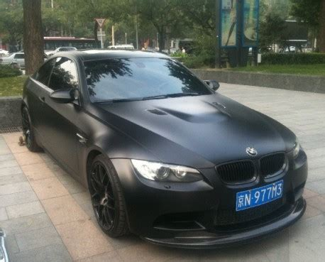 matte black bmw m3 for sale bmw m3 is matte black in china carnewschina