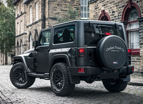 jeep truck black jeep wrangler black hawk edition by project kahn chelsea