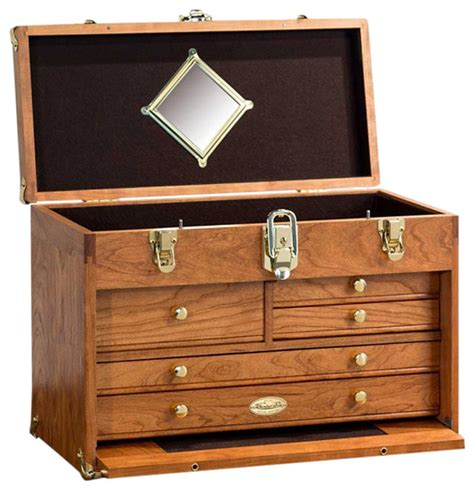 wood chest cherry traditional accent chests and