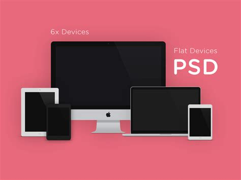 iphone device layout flat design devices with psd mockups freebies graphic