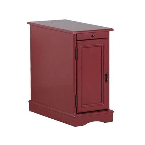 accent tables with storage powell furniture butler rectangular end table with storage