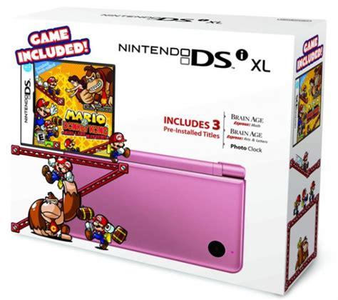 Nintendo 3ds Xl Bundle 1716 by Nintendo Unveils New Dsi Xl Bundles For Holidays Slashgear