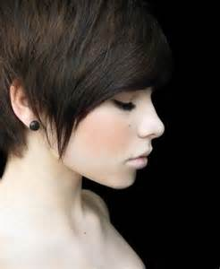 hair in the front shorter on the sides 22 cool short pixie hair cuts for women 2015 pretty designs