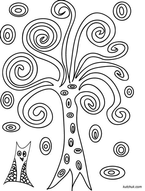 97 Dessins De Coloriage Arbre Maternelle Imprimer