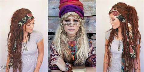 gypsy style hairstyles 10 best chic and creative boho hairstyles