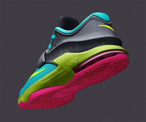 Schuhe Nike Kd Vii 7 Carnival Hyper Jade Base Hyper Rosa Kaufen Volt Grau Dunkel P 372 nike kd vii gs carnival sole collector