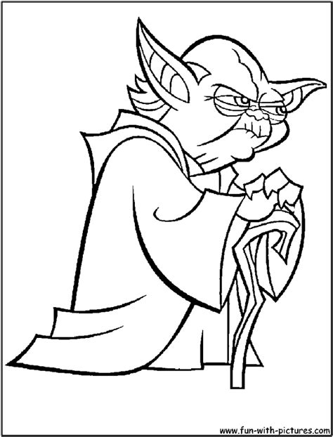 coloring page yoda yoda coloring pages az coloring pages