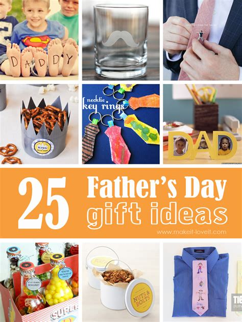 Handmade Fathers Day Gift Ideas - 25 s day gift ideas make it and it
