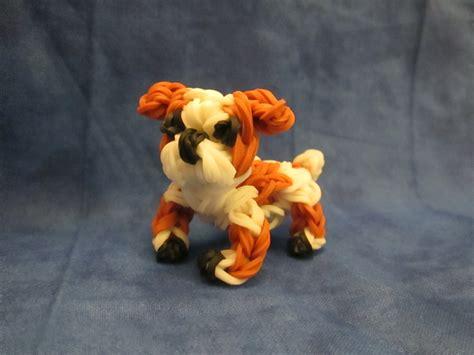 Rainbow Loom English Bulldog Charm. Dog or Puppy 3 D CAGNOLINO /CANE 3D Con Elastici   YouTube