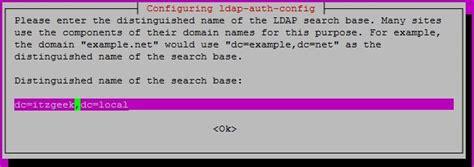 configure ubuntu ldap server configure ldap client on ubuntu 16 04 debian 8 itzgeek